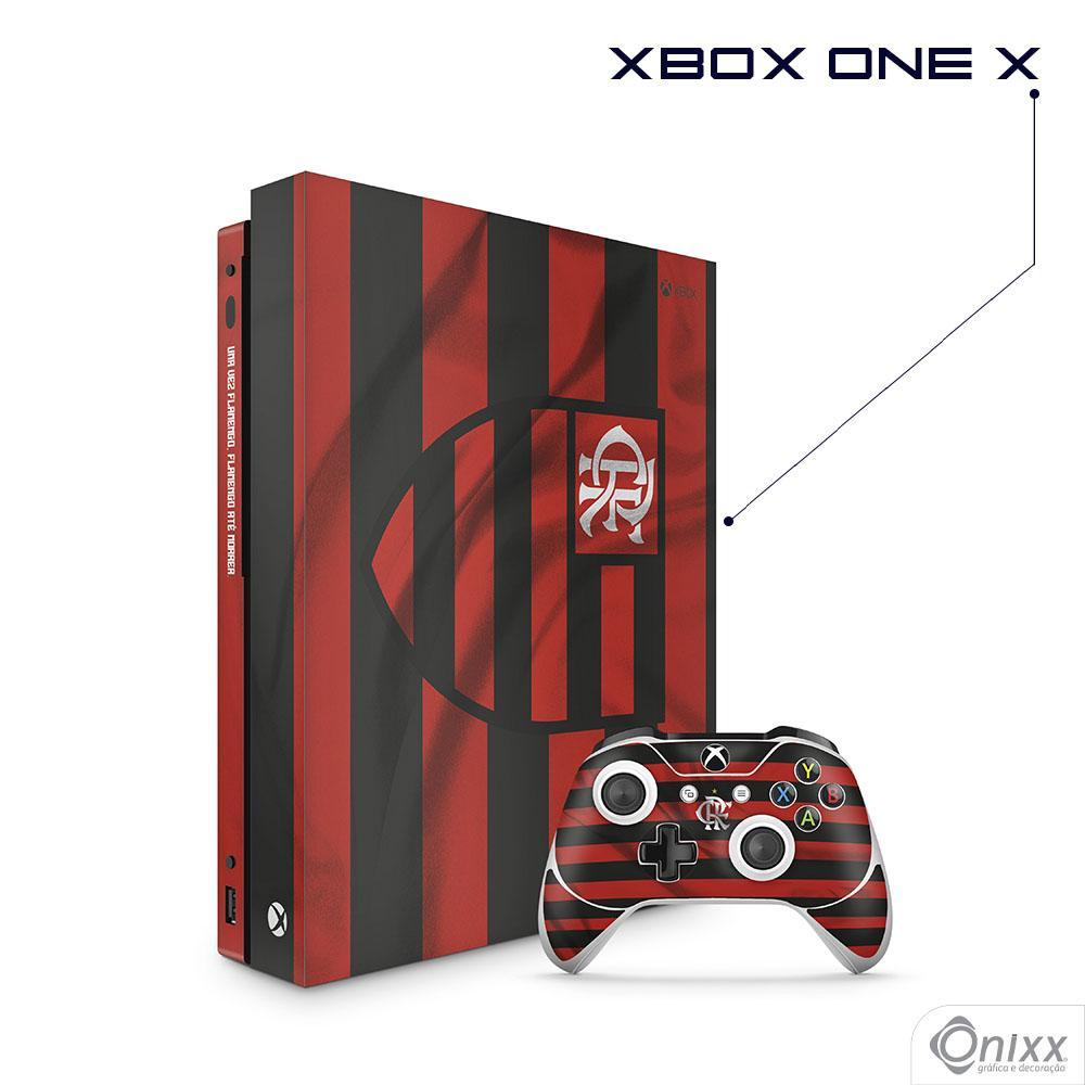 Skin Game Adesiva XBOX ONE X Flag Flamengo