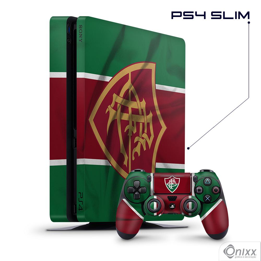 Skin Game Adesiva PS4 SLIM Flag Fluminense