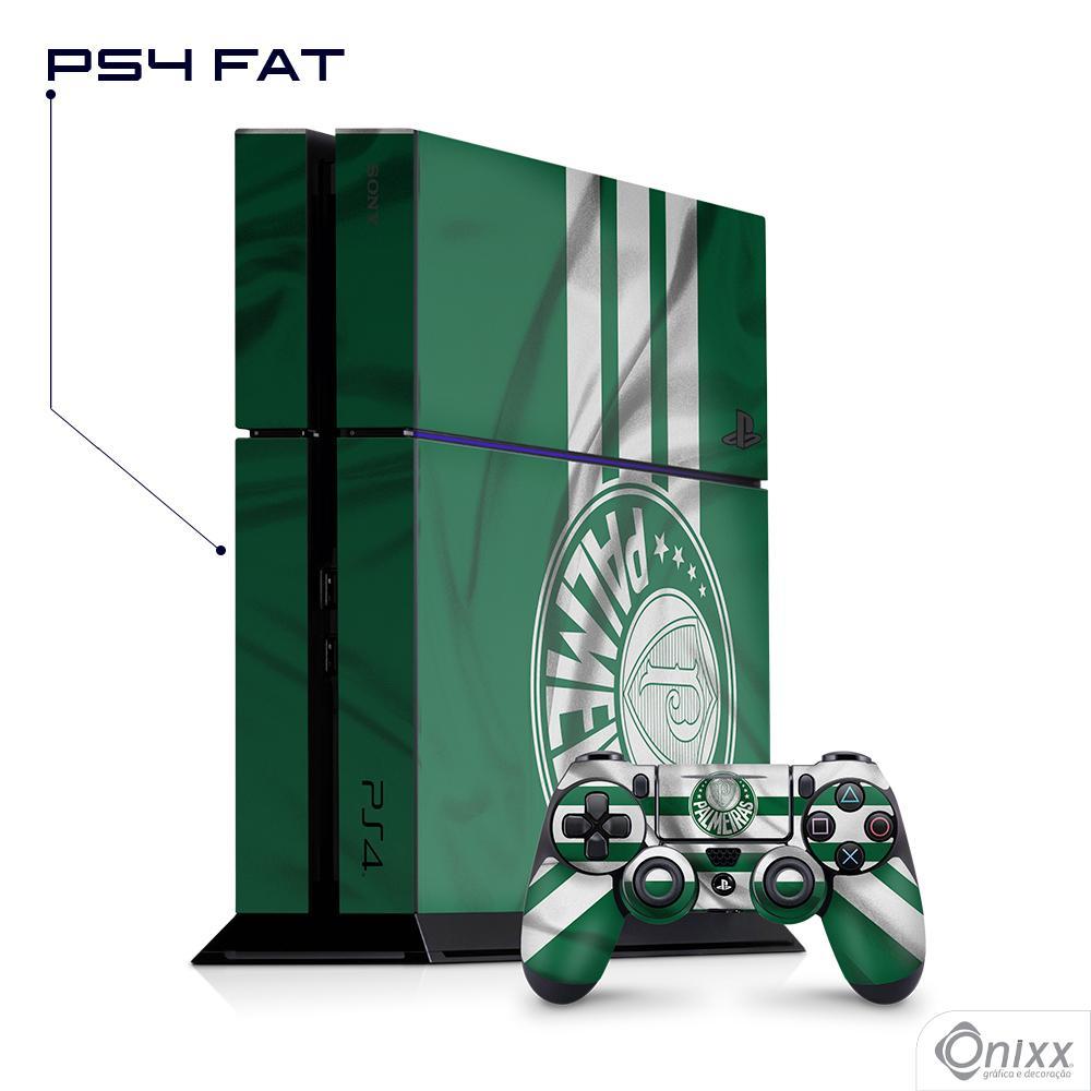Skin Game Adesiva PS4 FAT Flag Palmeiras