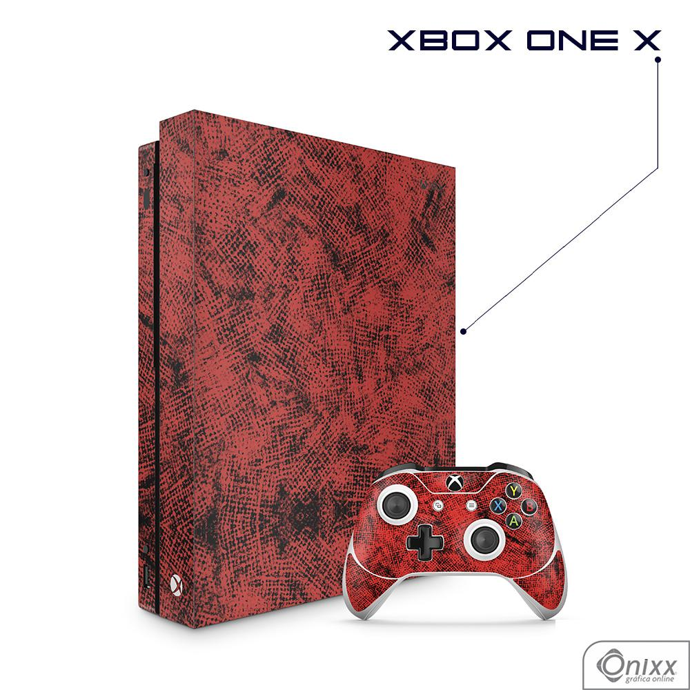Skin Game Adesiva XBOX ONE X Canvas Red