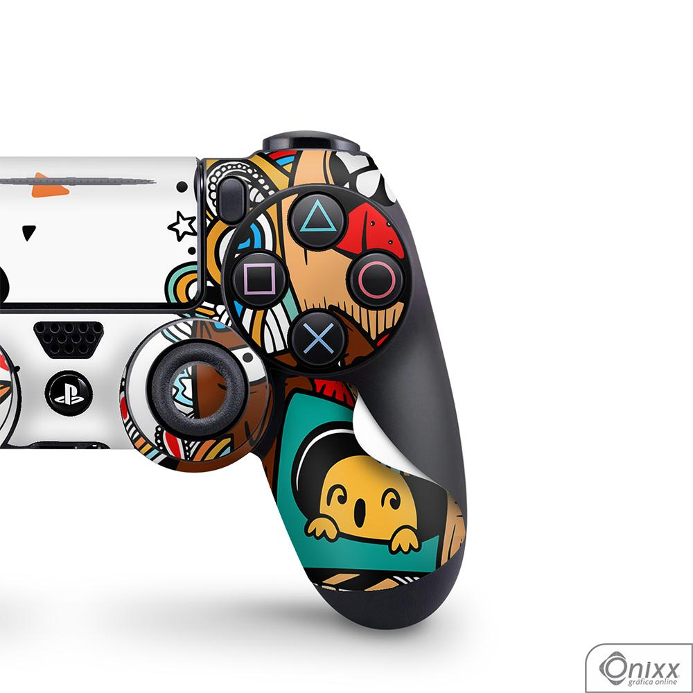 Skin Game Adesiva PS4 JOYSTICKS Crazy Beings