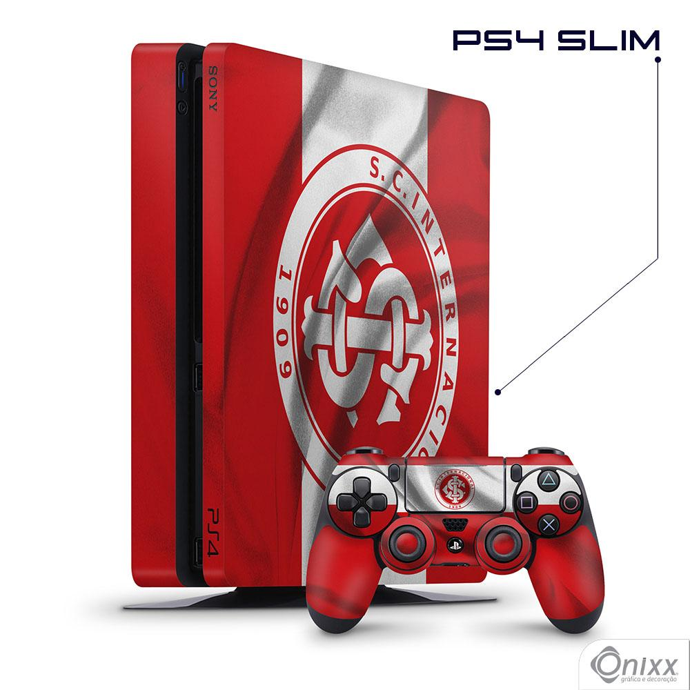 Skin Game Adesiva PS4 SLIM Flag Internacional