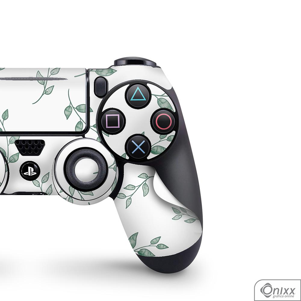 Skin Game Adesiva PS4 JOYSTICKS Galhos e Folhas