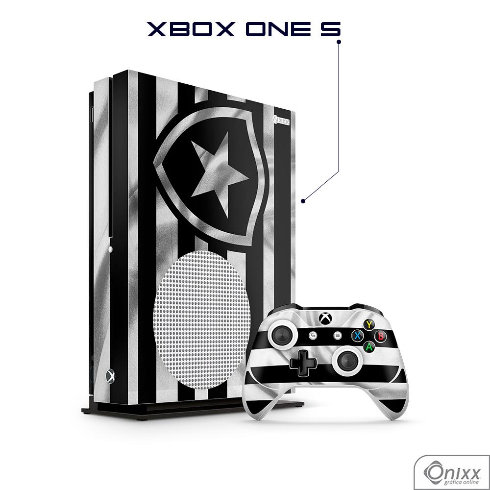 Skin Game Adesiva XBOX ONE S Flag Botafogo