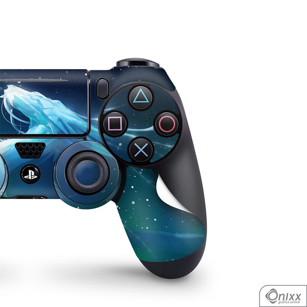 Skin Game Adesiva PS4 JOYSTICKS White Dragons