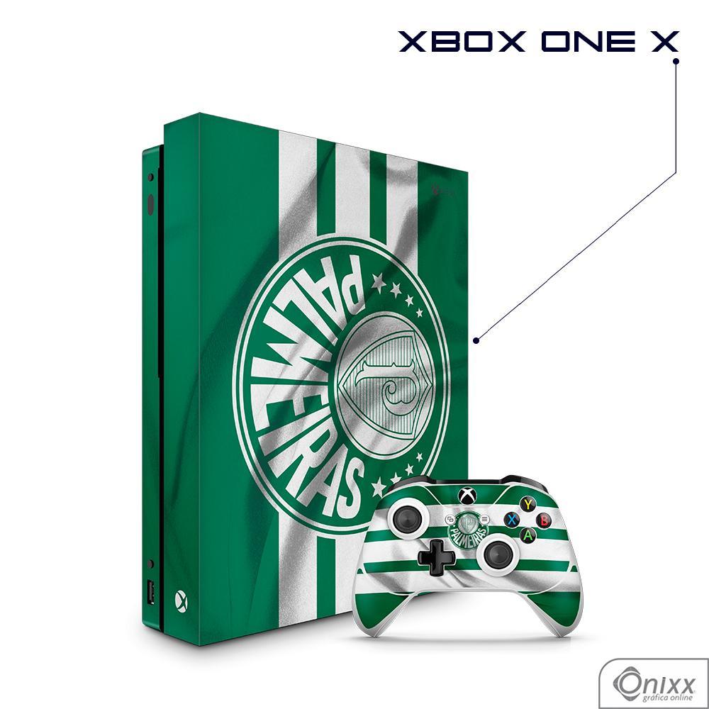Skin Game Adesiva XBOX ONE X Flag Palmeiras
