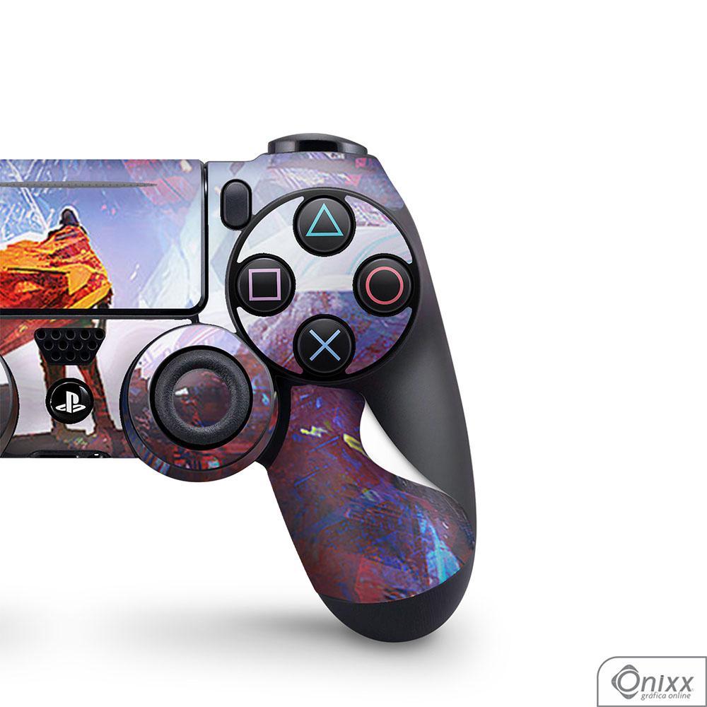 Skin Game Adesiva PS4 JOYSTICKS Futuristic Aventure