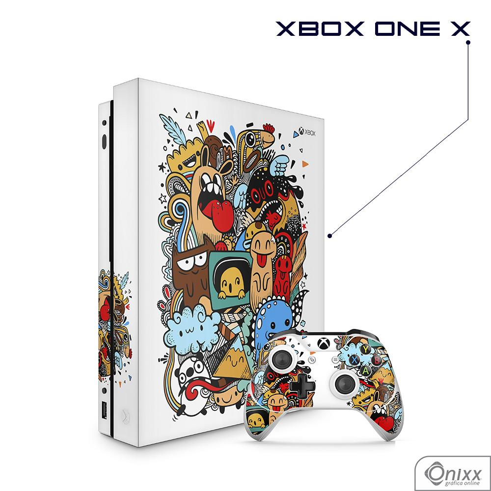 Skin Game Adesiva XBOX ONE X Crazy Beings