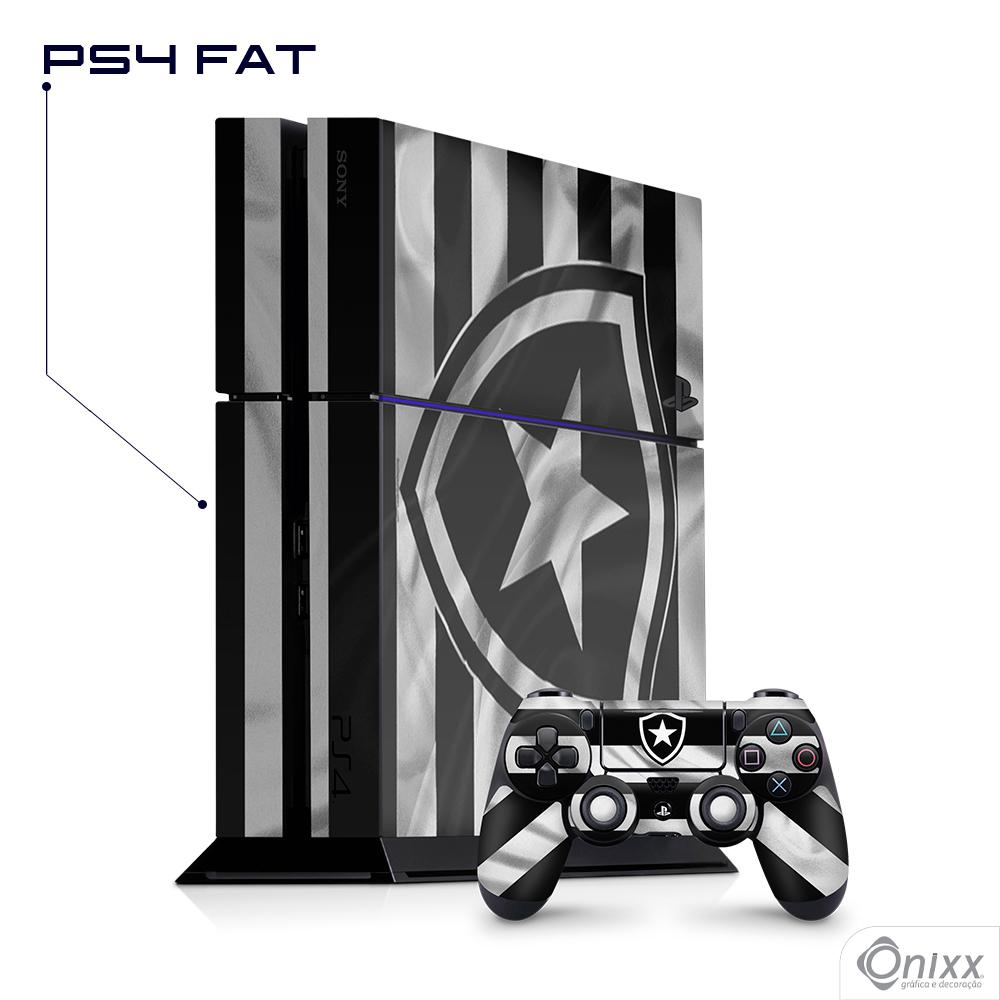 Skin Game Adesiva PS4 FAT Flag Botafogo