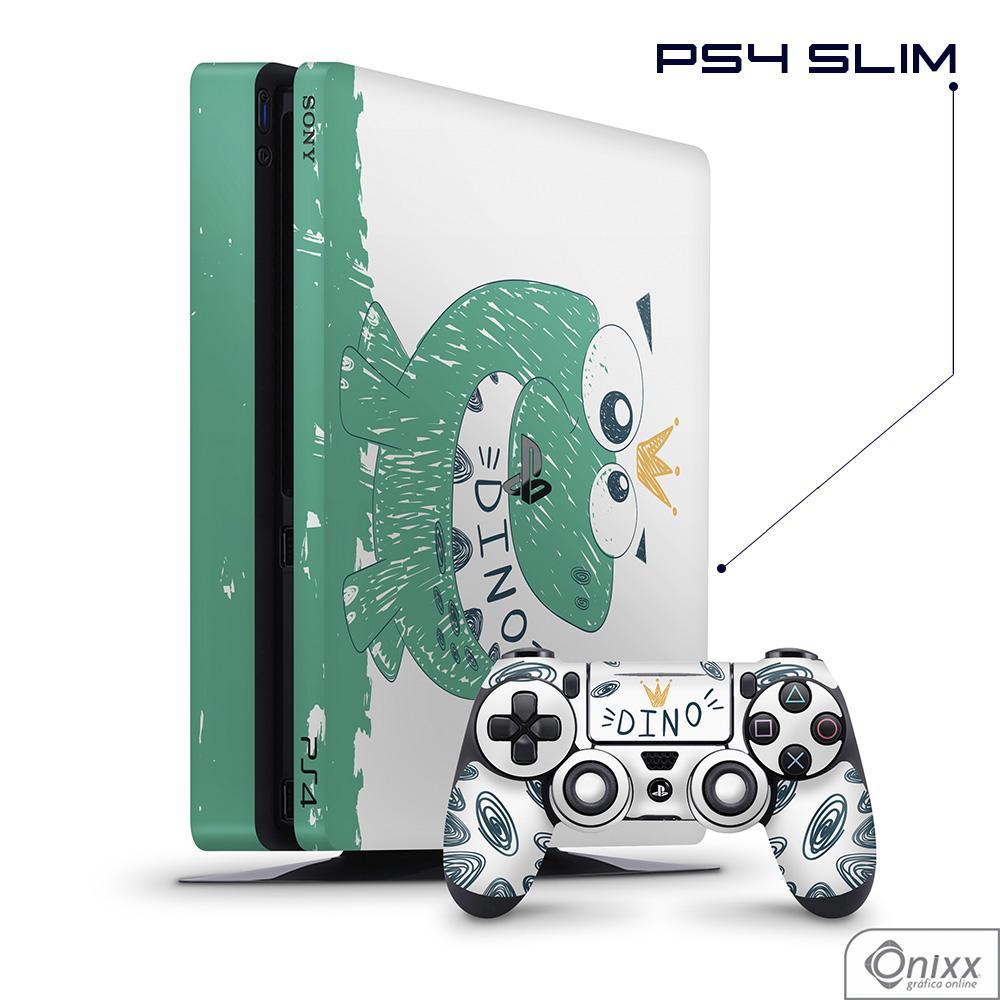 Skin Game Adesiva PS4 SLIM Dino