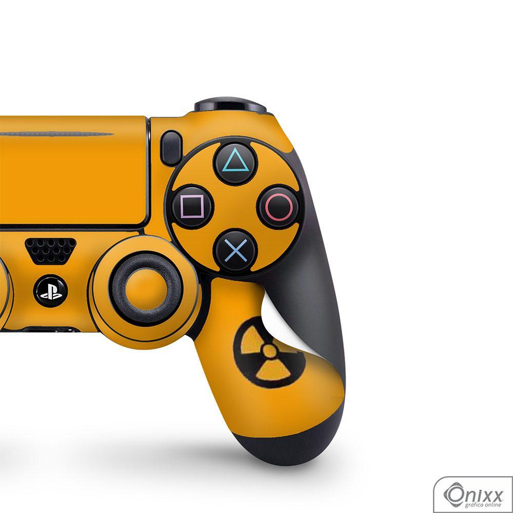 Skin Game Adesiva PS4 JOYSTICKS Não Pule No Lixo Radioativo
