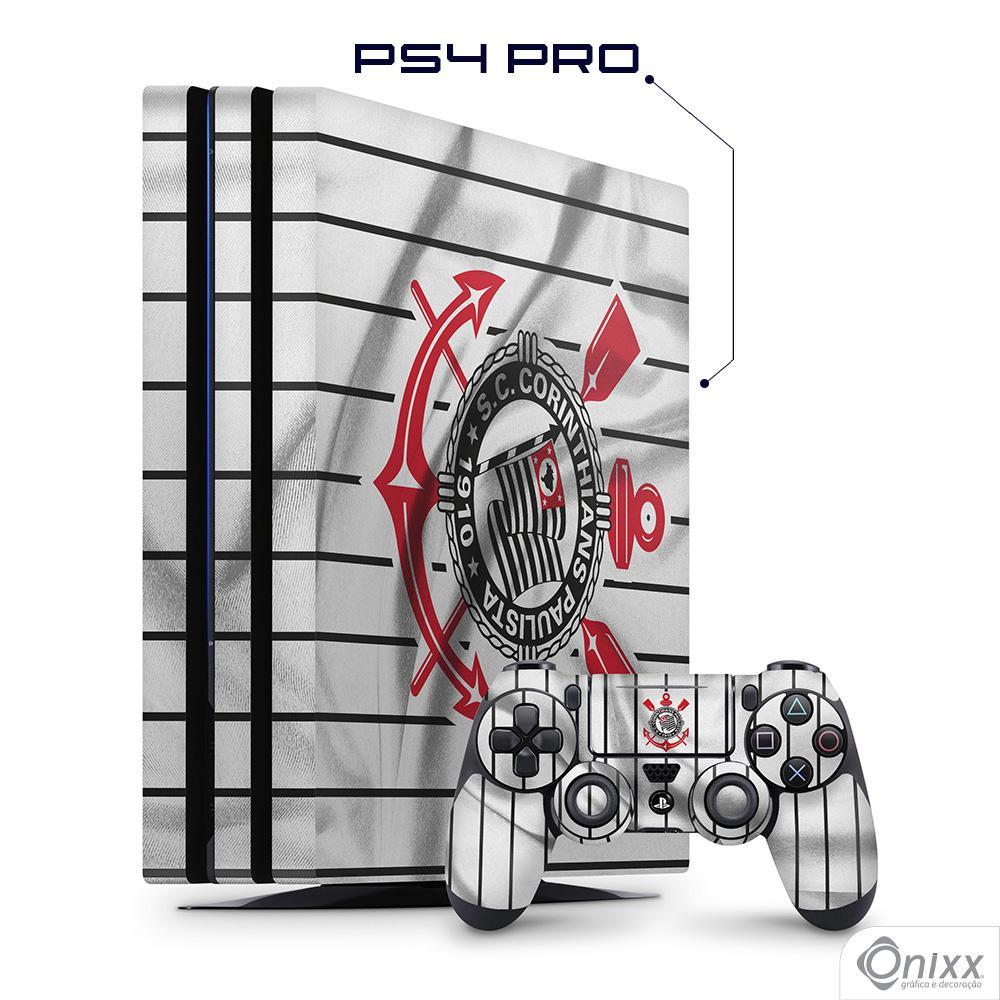 Skin Game Adesiva PS4 PRO Flag Corinthians