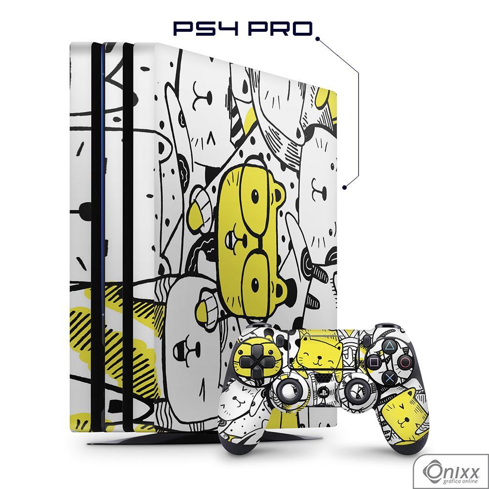 Skin Game Adesiva PS4 FAT Gatinhos Fofinhos