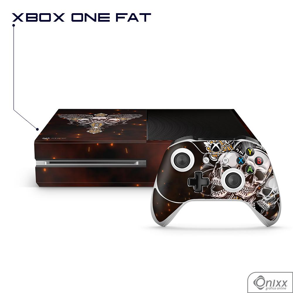 Skin Game Adesiva XBOX ONE FAT Skulls
