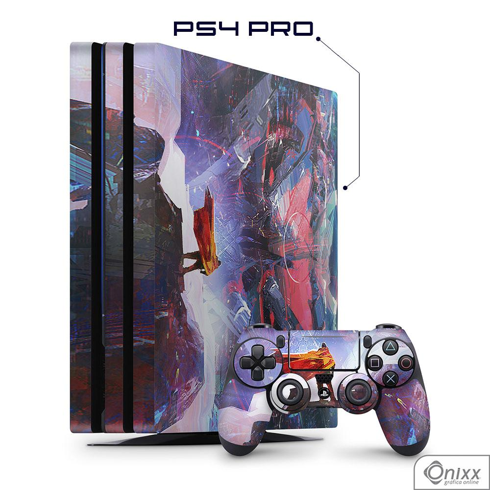 Skin Game Adesiva PS4 PRO Futuristic Aventure