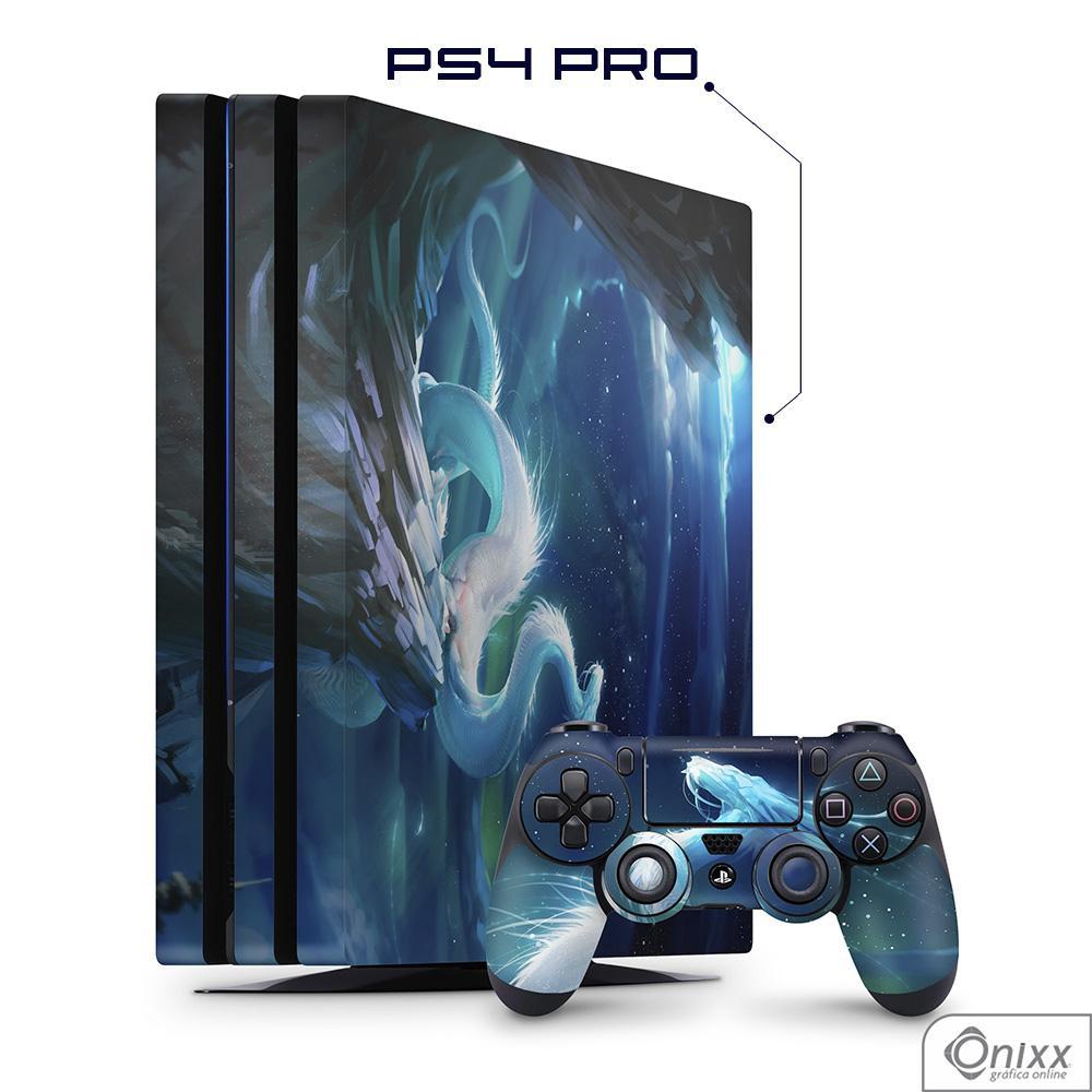 Skin Game Adesiva PS4 PRO White Dragon