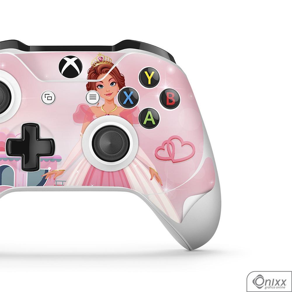 Skin Game Adesiva XBOX ONE JOYSTICKS Princesa Tema Rosa