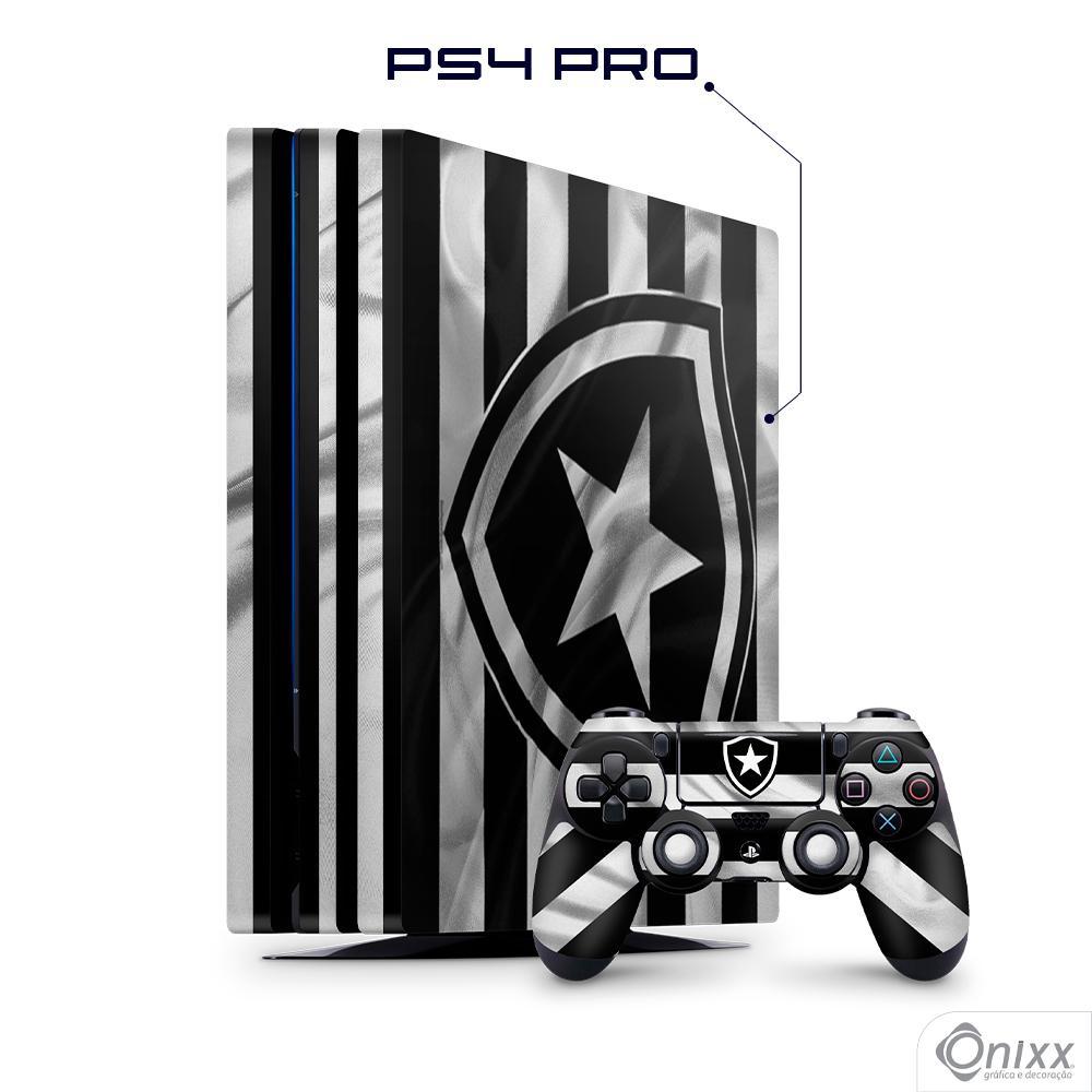 Skin Game Adesiva PS4 PRO Flag Botafogo