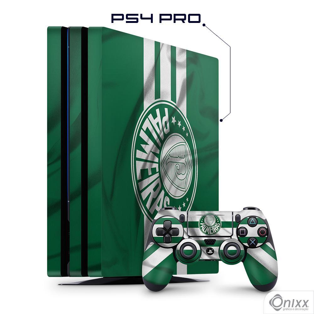 Skin Game Adesiva PS4 PRO Flag Palmeiras