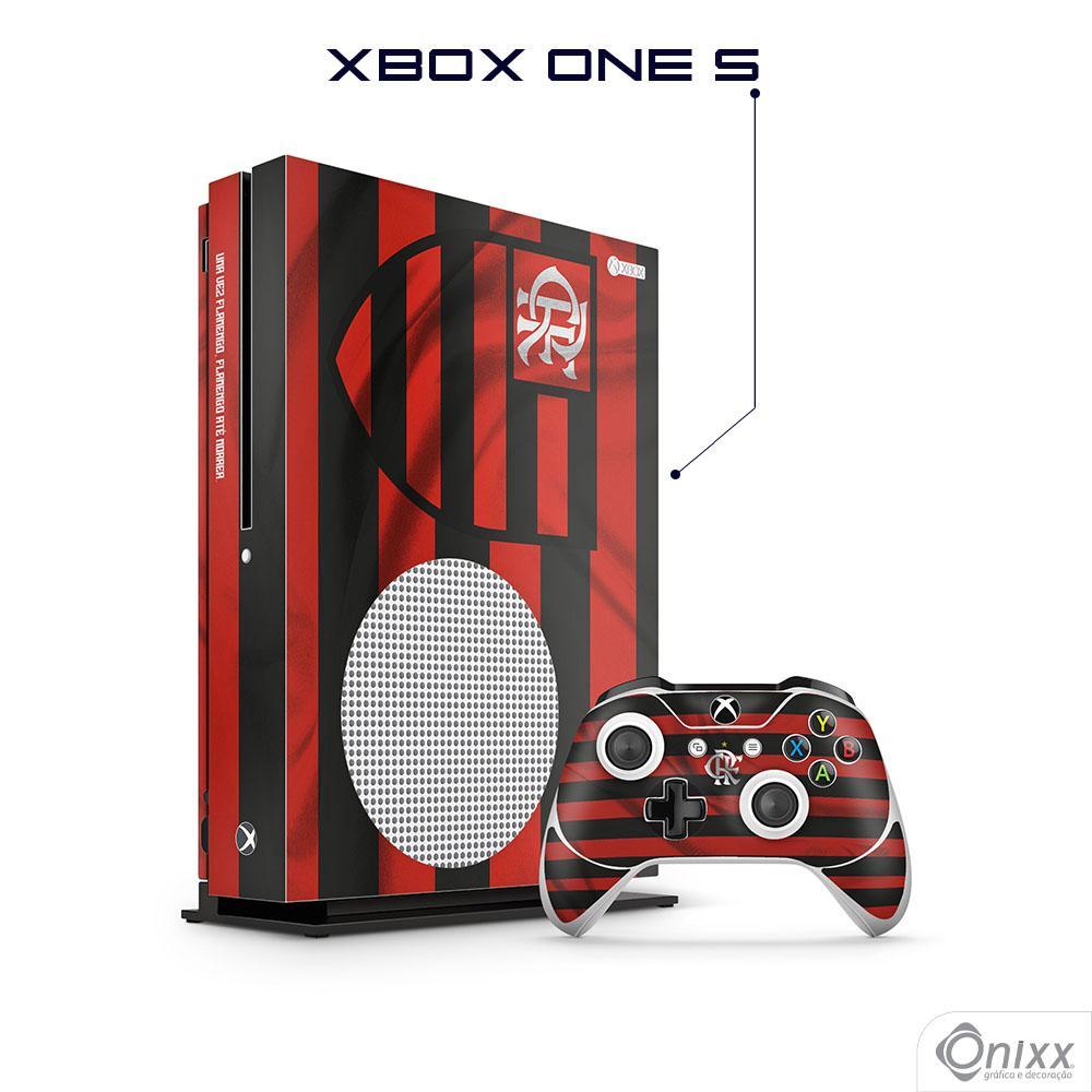 Skin Game Adesiva XBOX ONE S Flag Flamengo