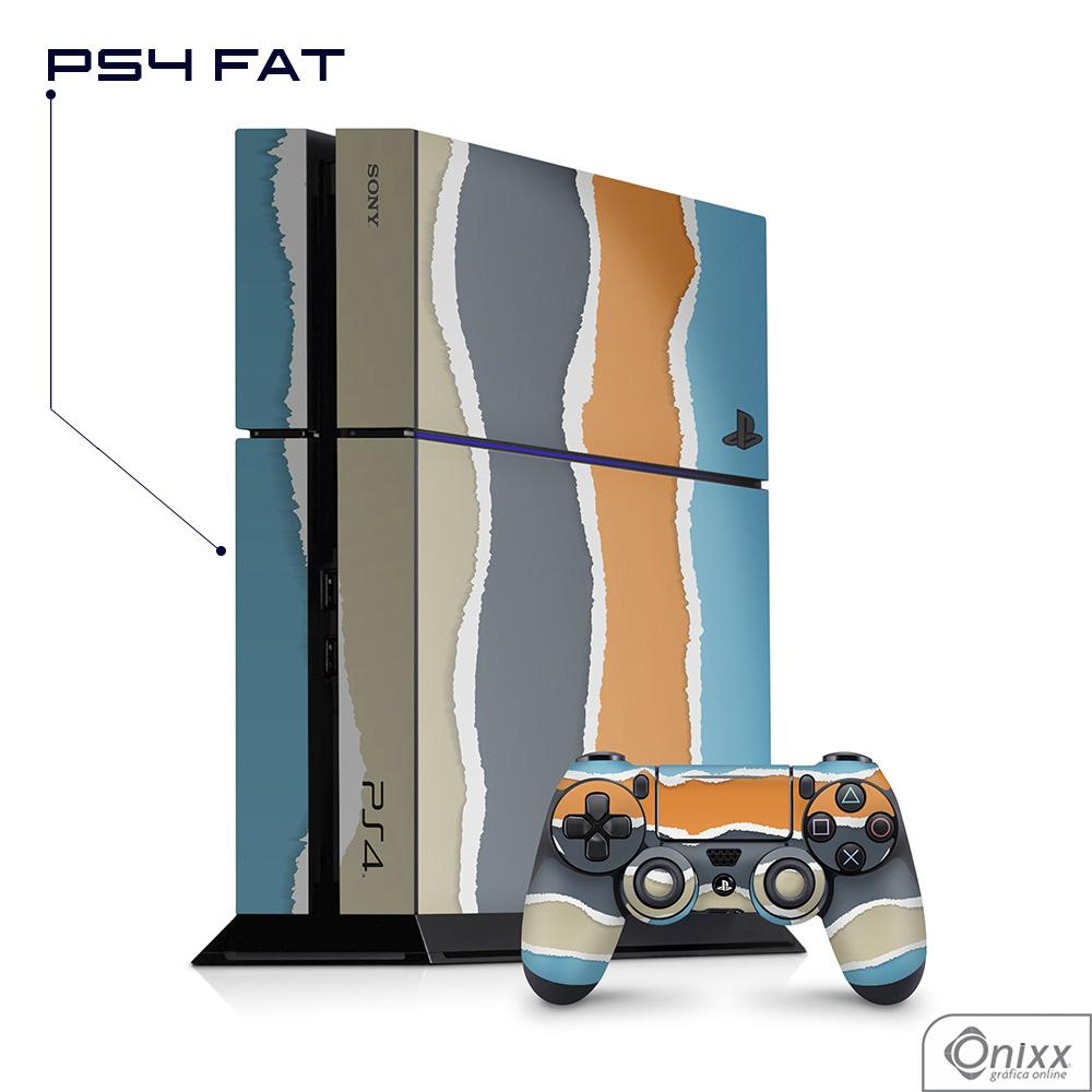 Skin Game Adesiva PS4 FAT Cool Stripes
