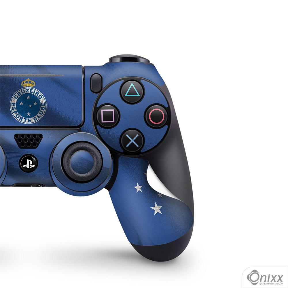 Skin Game Adesiva PS4 JOYSTICKS Flag Cruzeiro