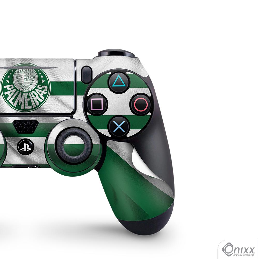 Skin Game Adesiva PS4 JOYSTICKS Flag Palmeiras