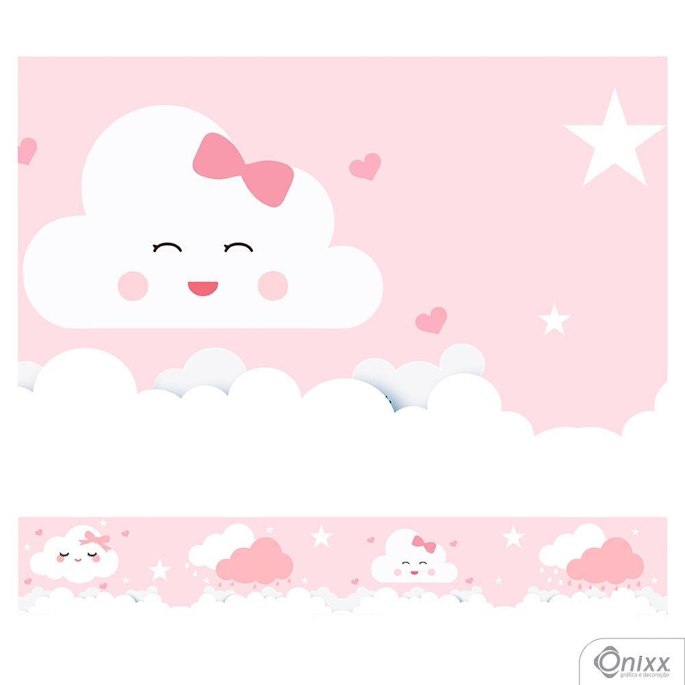 Faixa Decorativa Nuvens Irmãs