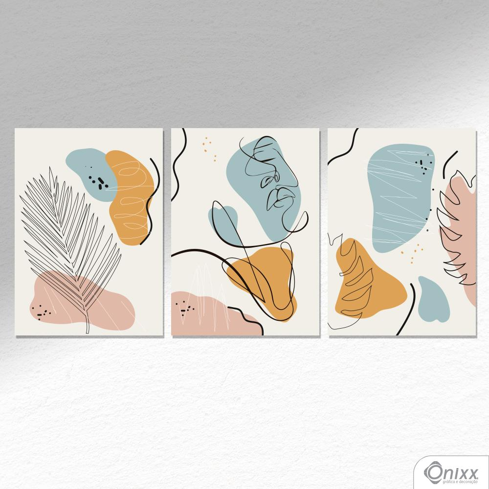 Kit De Placas Decorativas Beleza Tropical A4