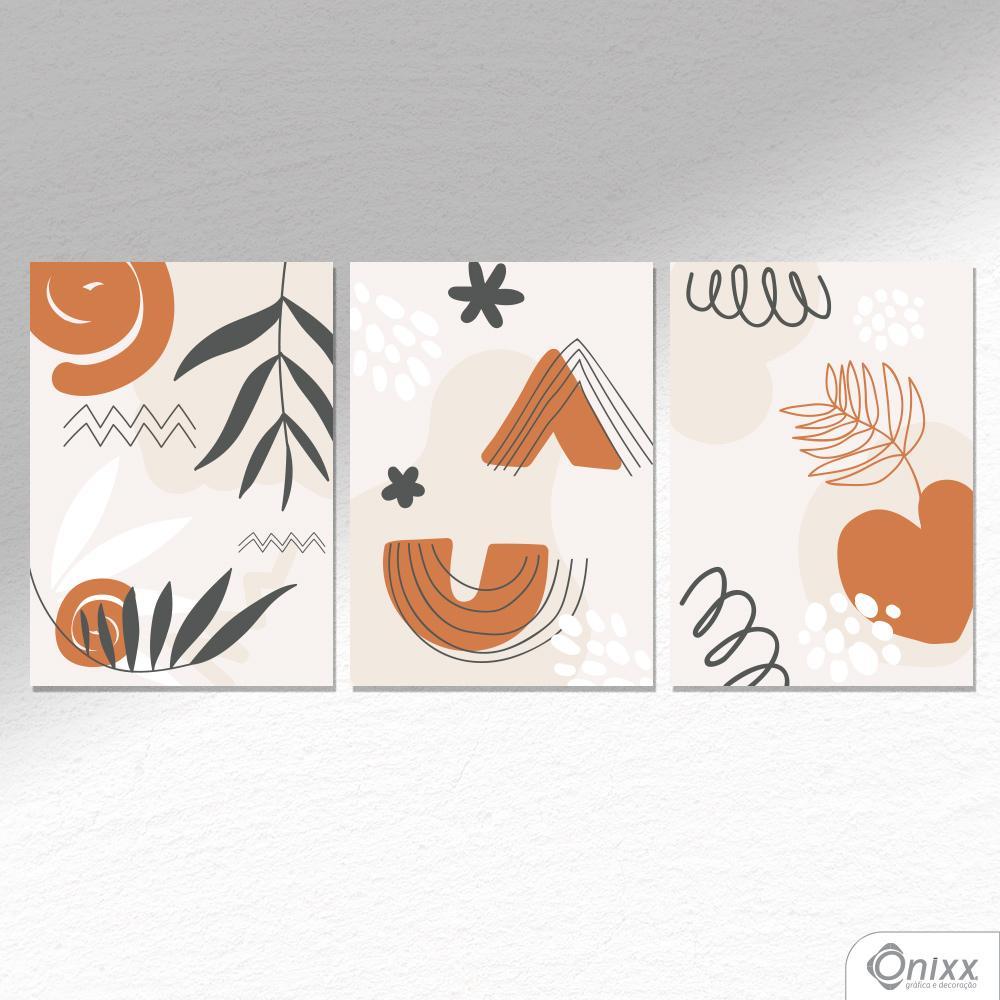 Kit De Placas Decorativas Earth Leaf A4