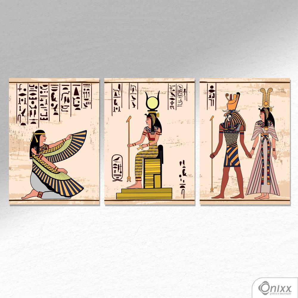 Kit De Placas Decorativas Egypt A4