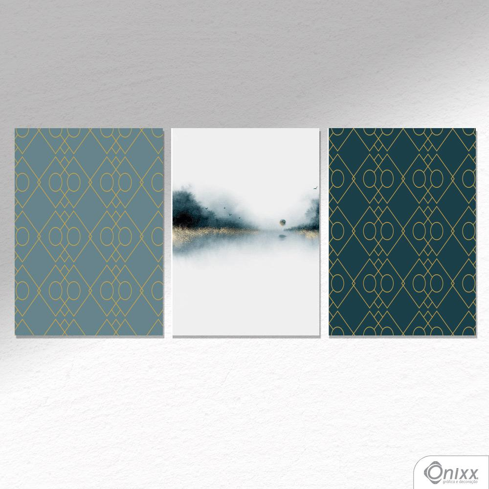 Kit De Placas Decorativas Forest A4