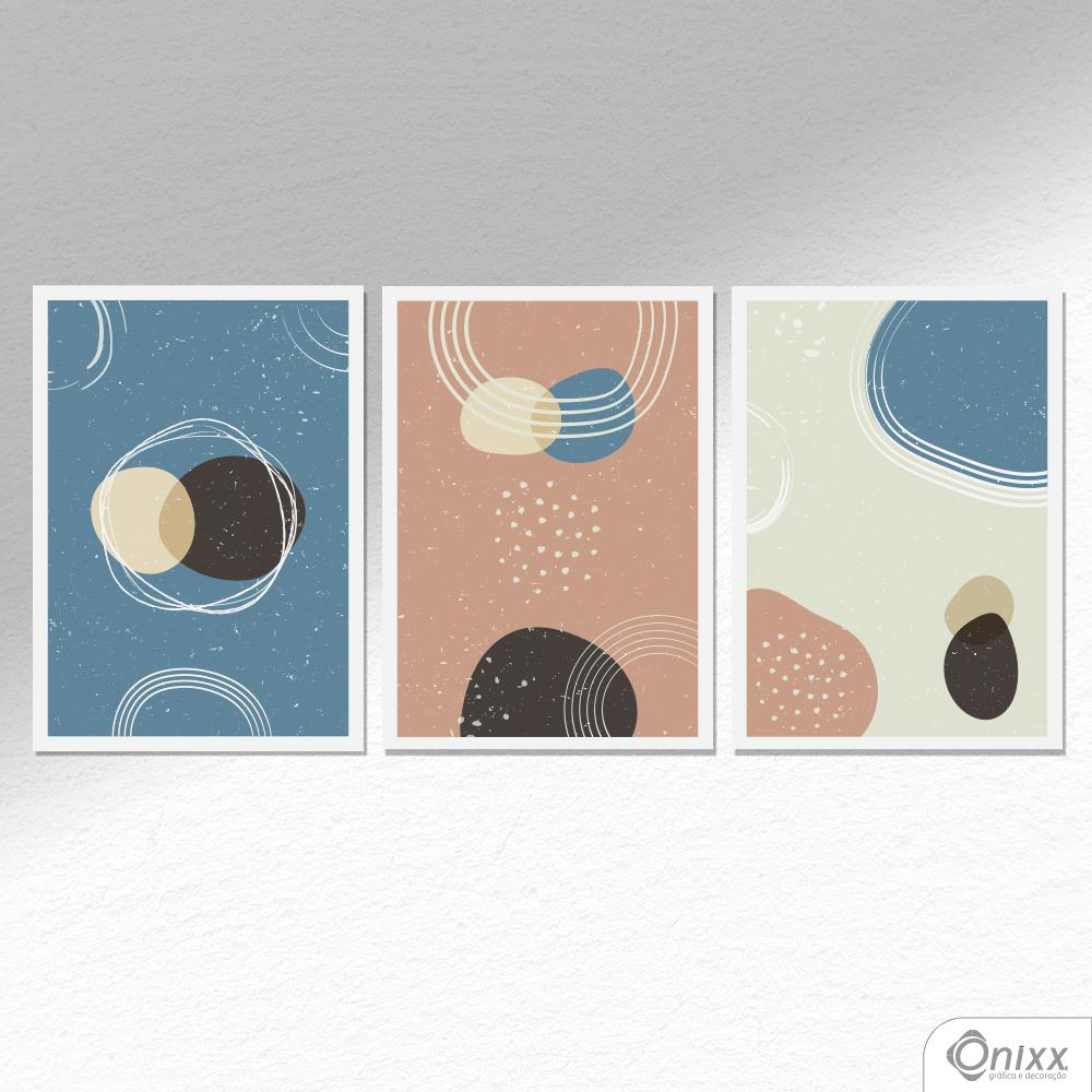 Kit De Placas Decorativas Organic Shapes A4