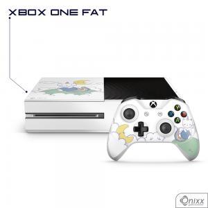 Skin Game Adesiva XBOX ONE FAT Gatinha Unicórnio