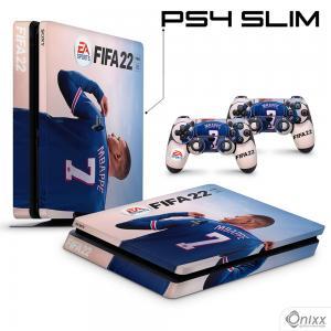 Skin Ps4 Slim Adesiva Fifa 22 + Pôster A3