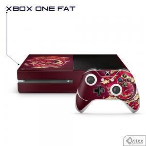 Skin Game Adesiva XBOX ONE FAT Dragão Vermelho