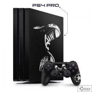 Skin Game Adesiva PS4 PRO Allstar Adesivo Vinil Americano 10µ  4x0 Brilho Corte Eletrônico