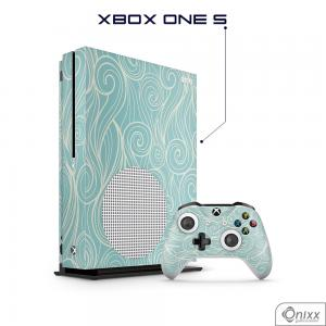 Skin Game Adesiva XBOX ONE S Light Blues Waves