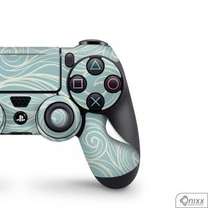 Skin Game Adesiva PS4 JOYSTICKS Light Blues Waves