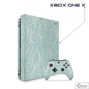 Skin Game Adesiva XBOX ONE X Light Blues Waves