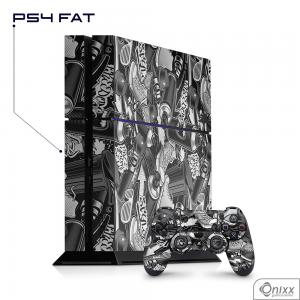 Skin Game Adesiva PS4 FAT Estilo Grafite