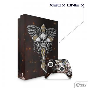 Skin Game Adesiva XBOX ONE X Skulls