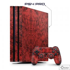 Skin Game Adesiva PS4 PRO Canvas Red