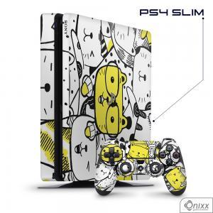 Skin Game Adesiva PS4 SLIM Gatinhos Fofinhos