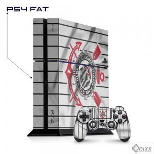 Skin Game Adesiva PS4 FAT Flag Corinthians