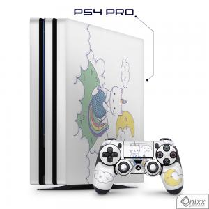 Skin Game Adesiva PS4 PRO Gatinha Unicórnio