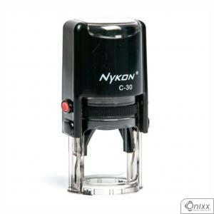 Carimbo Nykon Power C30 Redondo Plástico poliestireno. 30mm