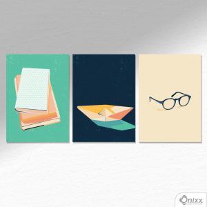 Kit De Placas Decorativas About A4