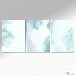 Kit De Placas Decorativas Aqua Love A4 MDF 3mm 30X20CM 4x0 Adesivo Fosco Corte Reto Fita Dupla Face 3M