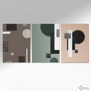 Kit De Placas Decorativas Concept Industry A4 MDF 3mm 30X20CM 4x0 Adesivo Fosco Corte Reto Fita Dupla Face 3M
